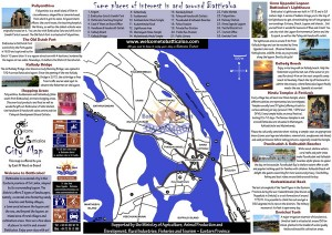 ENW - Batticaloa map with photos and Ministry support