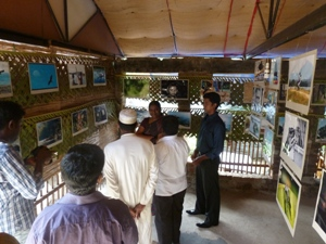 Exhibition in Cafe Chill - Welcome to Batticaloa