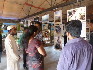 Exhibition in Cafe Chill 5 - Welcome to Batticaloa