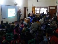 Frank in Village Empowerment Academy