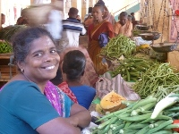 On Batticaloa's Market
