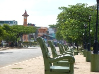 Bench in Batti town