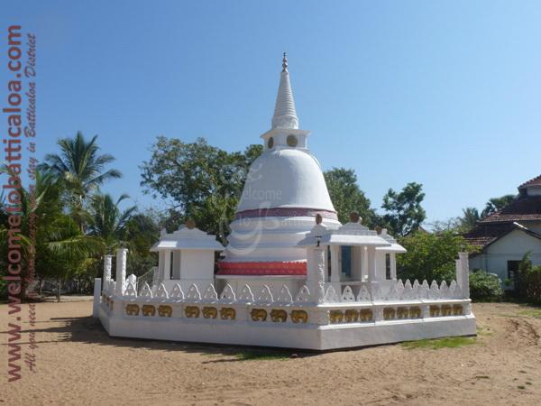 Sri Mangalarama Buddhist Temple 01 - Welcome to Batticaloa