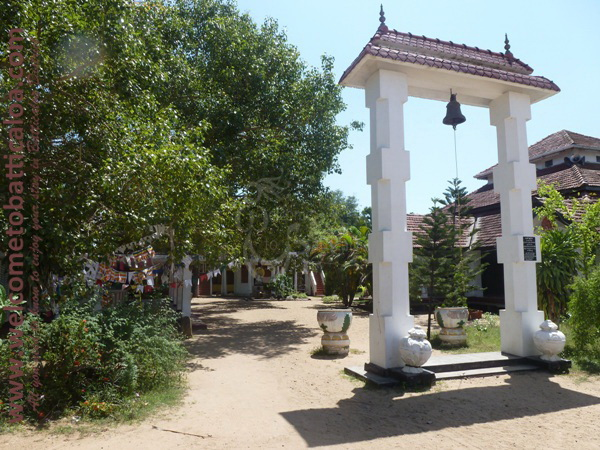 Sri Mangalarama Buddhist Temple 03 - Welcome to Batticaloa