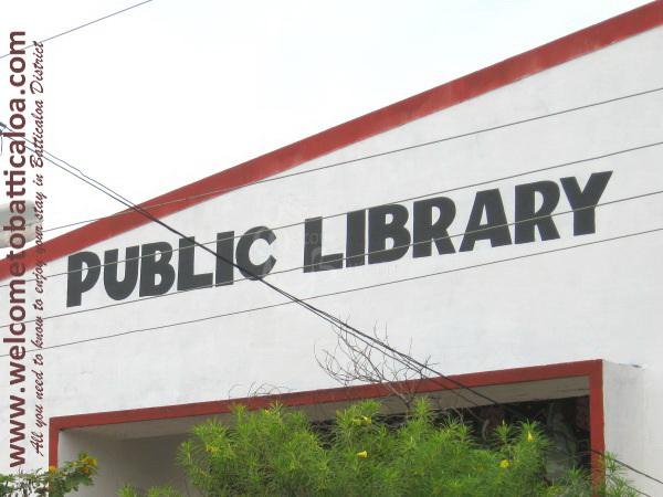 Batticaloa Public Library - 01b