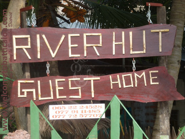 River Hut Guest Home 01 - Batticaloa Guesthouse - Welcome to Batticaloa