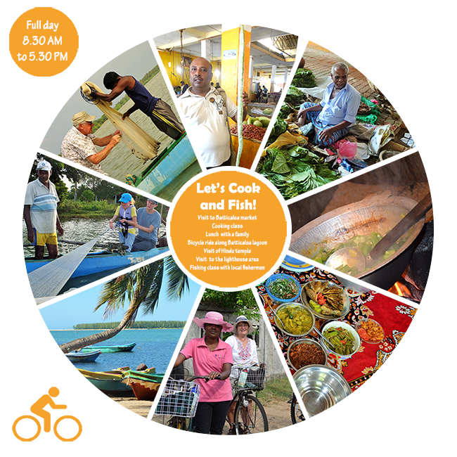 Let's Cook and Fish! - Excursion Pasikuda Batticaloa