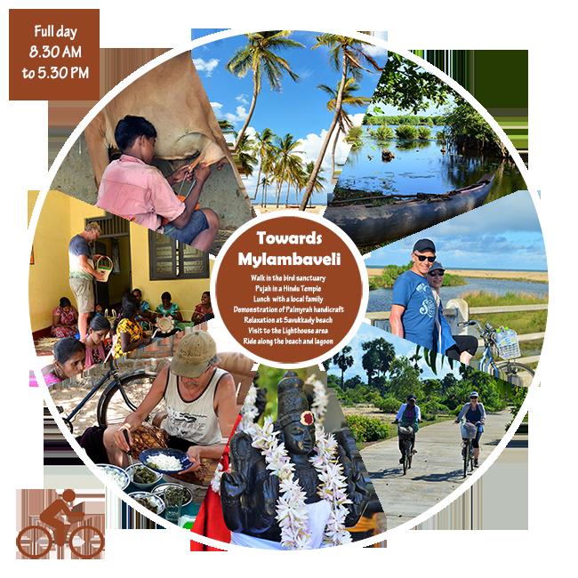 Towards Mylambaveli - Excursion Batticaloa Passikudah