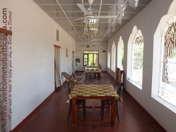 The New Land 19 - Kalkudah Guesthouse & Restaurant - Welcome to Batticaloa