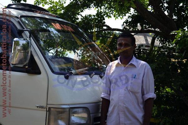 East N' West on Board 18 - Drivers Vehicles Guides Vans Cars Auto - Batticaloa Passikudah
