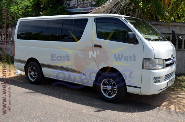 East N' West on Board 35 - Drivers Vehicles Guides Vans Cars Auto - Batticaloa Passikudah