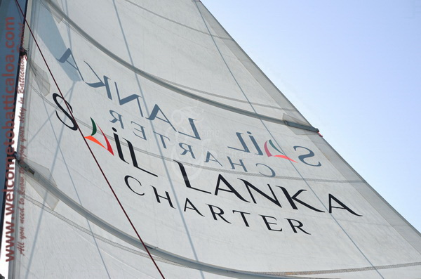 Sail Lanka Charter 01  - Water Sports Passikudah - Sailing Boat - Welcome to Batticaloa