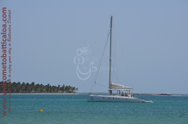 Sail Lanka Charter 03  - Water Sports Passikudah - Sailing Boat - Welcome to Batticaloa
