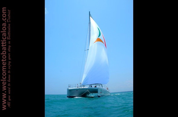 Sail Lanka Charter 07  - Water Sports Passikudah - Sailing Boat - Welcome to Batticaloa