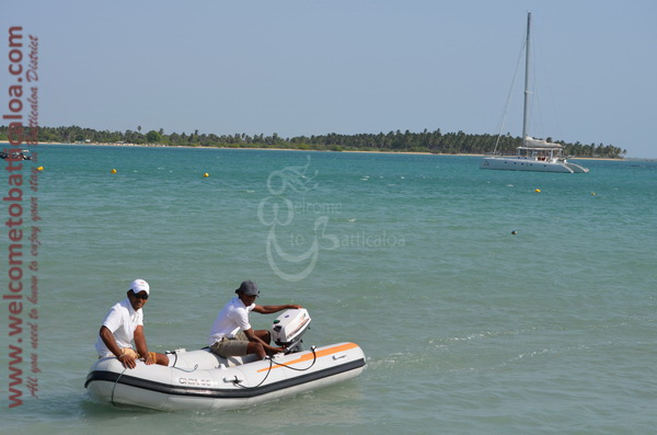 Sail Lanka Charter 10  - Water Sports Passikudah - Sailing Boat - Welcome to Batticaloa