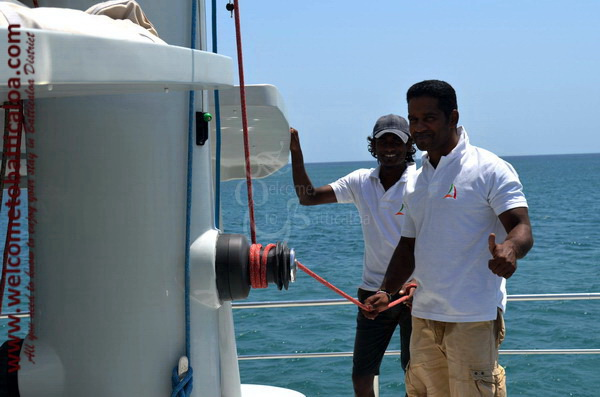 Sail Lanka Charter 12  - Water Sports Passikudah - Sailing Boat - Welcome to Batticaloa