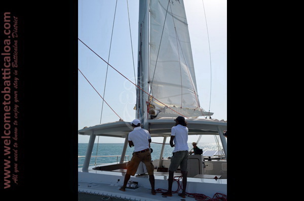 Sail Lanka Charter 19  - Water Sports Passikudah - Sailing Boat - Welcome to Batticaloa