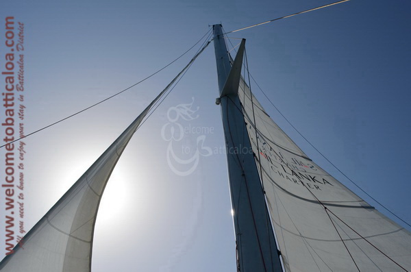 Sail Lanka Charter 20  - Water Sports Passikudah - Sailing Boat - Welcome to Batticaloa