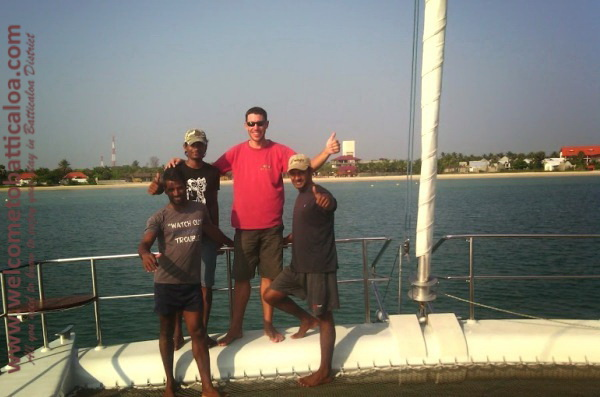Sail Lanka Charter 51  - Water Sports Passikudah - Sailing Boat - Welcome to Batticaloa