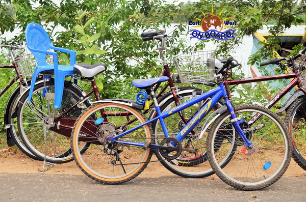 07 - Bicycle rental Batticaloa - East N' West on Board