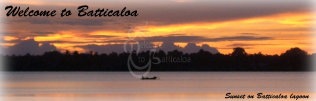 25 - sunset on batticaloa lagoon