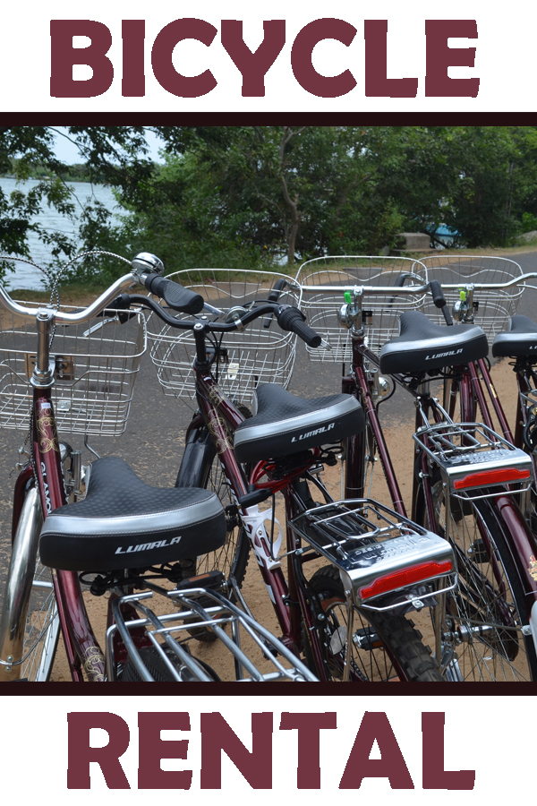 Rent a bike in Batticaloa!
