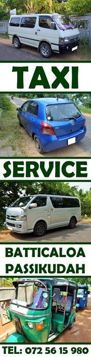 Taxi Service Passikudah Batticaloa